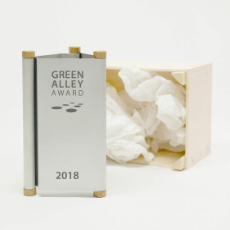 Green Alley Award trophy 2018