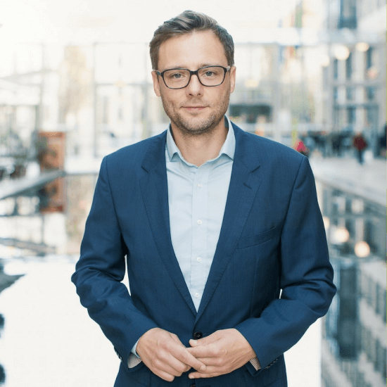 Johannes Ranscht, CEO Seedmatch and jury member of the Green Alley Award 2018
