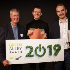 Gelatex Technologies wins Green Alley Award 2019